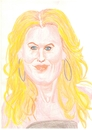 Cartoon: Michelle Pfeiffer (small) by paintcolor tagged caricature,michelle,pfeiffer,actor,famous,hollywood