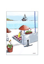 Cartoon: Sommer (small) by Mehmet Karaman tagged sommer,katze,strand