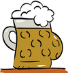 Cartoon: Bierbauch (small) by subbird tagged bierbauch bier oktoberfest