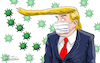 Cartoon: Boltonvirus. (small) by Cartoonarcadio tagged trump,impeachment,washington,us,president,bolton