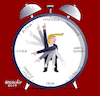 Cartoon: Donald Trump times. (small) by Cartoonarcadio tagged usa,trump,china,russia,venezuela