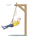 Cartoon: Ghoulish swing. (small) by Cartoonarcadio tagged enterteinment,hunor,cartoon