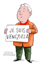 Cartoon: Je Suis Venezuela. (small) by Cartoonarcadio tagged maduro venezuela libertad latin america
