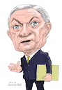 Cartoon: Jeff Sessions USA. (small) by Cartoonarcadio tagged sessions,usa,us,government,politicians,trump