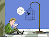 Cartoon: Learn to be free. (small) by Cartoonarcadio tagged freedom samart phones spending time