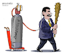 Cartoon: Oxygen to Maduro. (small) by Cartoonarcadio tagged venezuela dictator latin america maduro