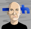 Cartoon: Penetrant Facebook. (small) by Cartoonarcadio tagged facebook,data,information,internet