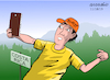 Cartoon: Selfies with animals was banned (small) by Cartoonarcadio tagged selfies,costa,rica,wild,animals,nature