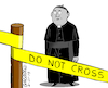 Cartoon: The catholic church in trouble. (small) by Cartoonarcadio tagged catholisism church pope sexual abuse crime priest
