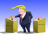Cartoon: The emergencies of Trump. (small) by Cartoonarcadio tagged trump maduro the wall