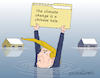 Cartoon: Trump and the climate change. (small) by Cartoonarcadio tagged climate,change,trump,us,government,environment,planet,earth