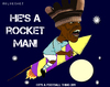 Cartoon: Balotelli - Over the Moon (small) by bluechez tagged mario balotelli manchester city rocket firework football premiership