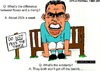 Cartoon: Carlos Tevez - On the Bench (small) by bluechez tagged carlos tevez manchester city champions league argentina football