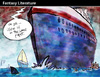 Cartoon: Fantasy literature (small) by PETRE tagged ships,travels,social,politics