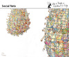 Cartoon: Social Nets (small) by PETRE tagged internet,facebook,blogs