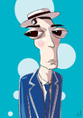 Cartoon: The great stone face (small) by PETRE tagged celebrities hollywood silver screen