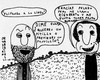 Cartoon: Flipando a lo lindo (small) by Juli tagged humor,absurdo,absurd