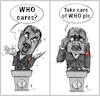 Cartoon: Before and after (small) by zenchip tagged who,tedros,covid19,coronavirus,zenchip,us,china