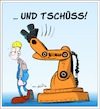 Cartoon: Neulich in der Fabrikhalle (small) by Trumix tagged ki,robotik,arbeitswelt,roboter,digitalisierung,industrie,hannover,messe