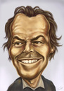 Cartoon: Jack Nicholson (small) by gartoon tagged jack nicholson