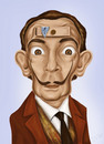 Cartoon: Salvador Dali (small) by gartoon tagged salvador,dali,caricature