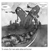 Cartoon: Life in a cartoon (small) by darkoarts tagged new,york,11,september,peace,tragedy,world,trade,center,twin,towers