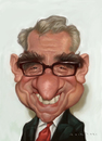 Cartoon: Martin Scorsese (small) by Amir Taqi tagged martin,scorsese