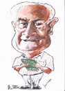 Cartoon: John Waring (small) by jjjerk tagged john,waring,cartoon,caricature,writer,ireland,england,famous