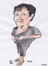 Cartoon: Sally (small) by jjjerk tagged sally,cartoon,caricature,artist,irish,ireland,painter,famous