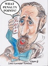 Cartoon: What penalty points? (small) by jjjerk tagged luke,ming,flanagan,mobile,phone,penalty,points,cartoon,caricature