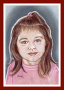 Cartoon: Elena (small) by Kidor tagged child kidor