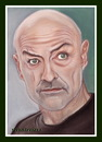 Cartoon: john locke lost (small) by Kidor tagged terry,quinn,kidor