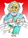 Cartoon: ALI FERZAT (small) by Hossein Kazem tagged ali ferzat