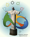 Cartoon: rio 2016 (small) by Hossein Kazem tagged rio,2016