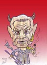 Cartoon: terry jones (small) by Hossein Kazem tagged terry jones