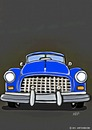 Cartoon: BIG BLUE CAR (small) by tonyp tagged car,blue,arp,aprons