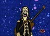 Cartoon: Capt. Music (small) by tonyp tagged arp,cast,captain,music,guitar,space