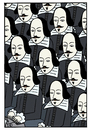 Cartoon: william shakespeare (small) by baggelboy tagged infinate