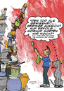Cartoon: Die Rückkehr des Spülers (small) by dogtari tagged great,dane,deutsche,dogge,herr,der,ringe,lord,of,the,rings,dogtari,bruno