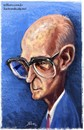 Cartoon: Carlos Drummond de Andrade (small) by William Medeiros tagged poet,writer,escritor,literature