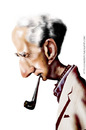 Cartoon: NORMAN ROCKWELL (small) by leandrofca tagged art,caricature,illustration