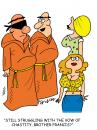 Cartoon: Vow of Chastity (small) by daveparker tagged monks,sexy,girls,vow,hard,to,keep
