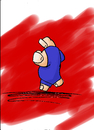 Cartoon: hand man (small) by Aumur selcuk tagged olympic,hand,man