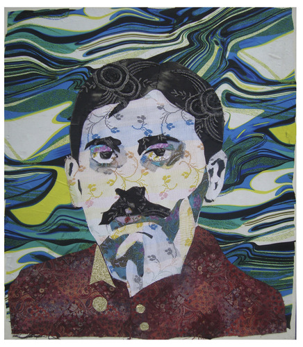 Cartoon: Marcel Proust (medium) by juniorlopes tagged literature,marcel,proust