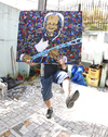 Cartoon: BB King from Brazil (small) by juniorlopes tagged bb king