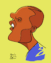Cartoon: Douglas Costa (small) by juniorlopes tagged douglas,costa