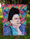 Cartoon: Frida Khalo (small) by juniorlopes tagged frida,khalo
