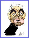 Cartoon: Raymond Domenech (small) by juniorlopes tagged world,cup