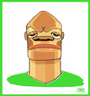 Cartoon: Webo (small) by juniorlopes tagged world,cup,2010