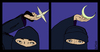 Cartoon: Shuriken throwers (small) by LeeFelo tagged shuriken,ninja,covered,eyes,mysticism,oriental,religion